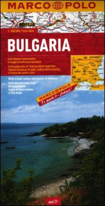 Bulgaria 1:800.000 -  pdf epub