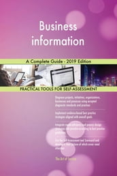 Business information A Complete Guide - 2019 Edition