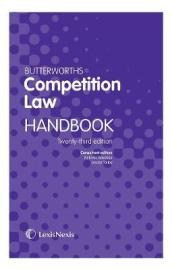 Butterworths Competition Law Handbook