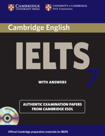 CAMBRIDGE IELTS 7 PACK