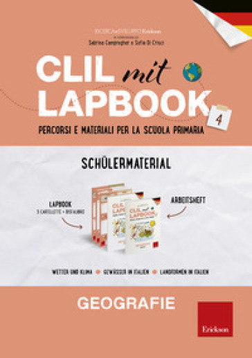 CLIL mit lapbook. Geographie. Quarta. Kit studente