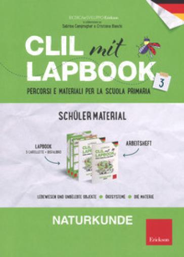 CLIL mit lapbook. Naturkunde. Terza. Schuler material - Sabrina Campregher  