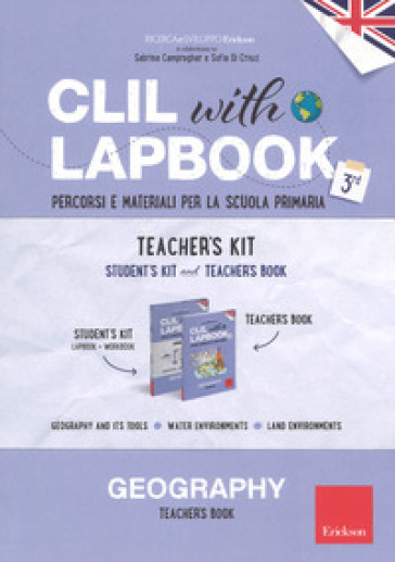 CLIL with lapbook. Geography. Terza. Teacher's kit