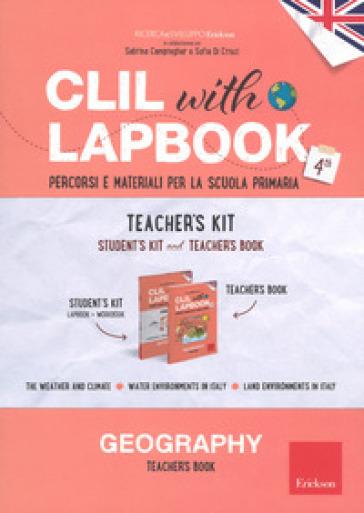 CLIL with lapbook. Geography. Quarta. Teacher's kit