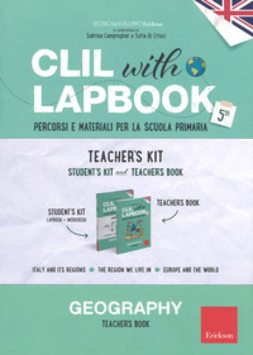 CLIL with lapbook. Geography. Quinta. Teacher's kit