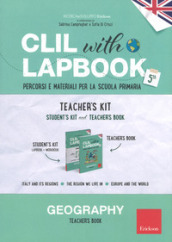 CLIL with lapbook. Geography. Quinta. Teacher
