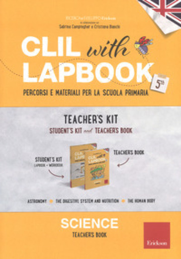 CLIL with lapbook. Science. Quinta. Teacher's kit