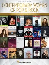 CONTEMPORARY WOMEN OF POP & ROCK SECOND EDITION PVG BOOK
