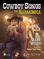 COWBOY SONGS FOR HARMONICA BOOK/AUDIO ONLINE