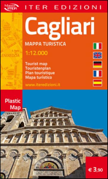Cagliari. Pianta turistica. Ediz. multilingue -  pdf epub