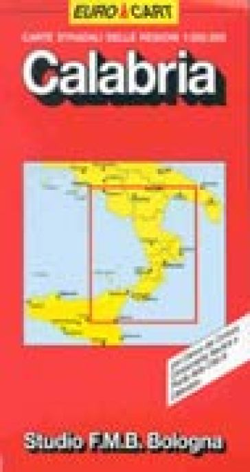 Calabria 1:300.000 -  pdf epub