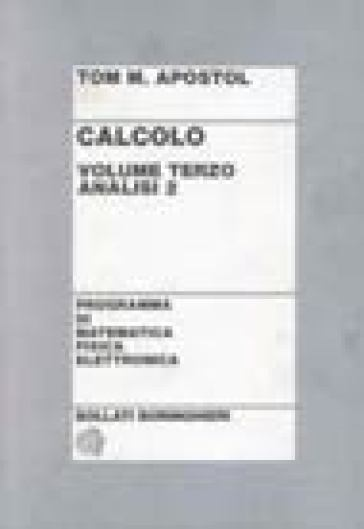 Calcolo. 3.Analisi 2