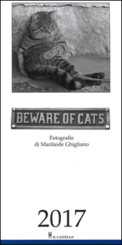 Calendario Beware of cats 2017