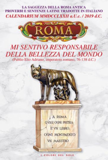 Calendario As Roma 2019.Calendario Roma 2019