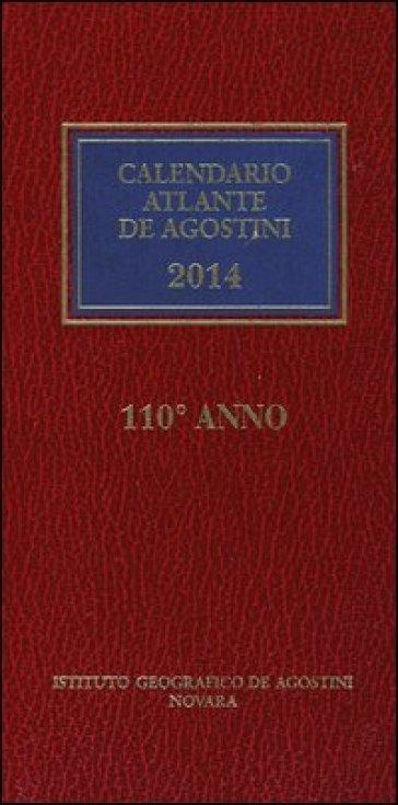 Calendario atlante De Agostini 2014. Con aggiornamento online