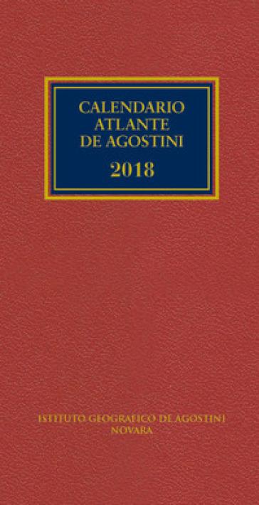 Calendario atlante De Agostini 2018