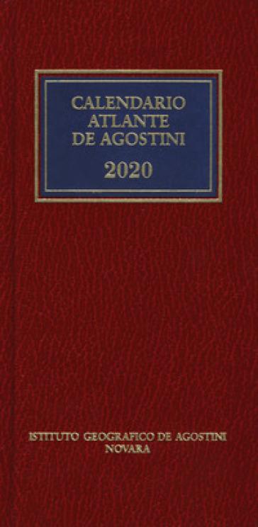 Calendario atlante De Agostini 2020. Con applicazione online -  pdf epub