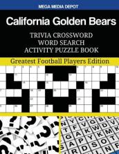 California Golden Bears Trivia Crossword Word Search Activity Puzzle Book