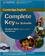 Cambridge English. Key for schools. Student