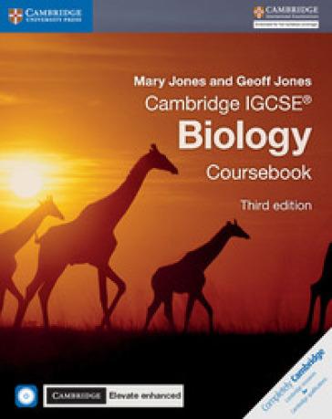 Cambridge IGCSE biology. Coursebook-Cambridge elevate. Enhanced edition. Per le Scuole superiori . Con e-book. Con espansione online. Con CD-ROM - Mary Jones  
