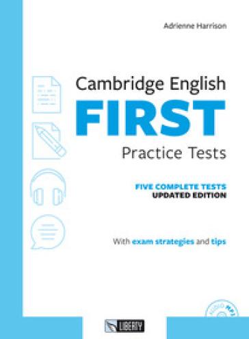 Cambridge english First practice tests. Per le Scuole superiori. Con File audio per il download - Adrienne Harrison pdf epub