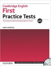 Cambridge english. First practice tests. Student's book. Con CD Audio . Per le Scuole superiori