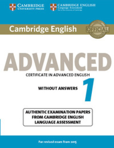 Cambridge english advanced for updated exams. Con e-book. Con espansione online. Per le Scuole superiori