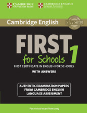 Cambridge english first for schools. For updated exam. Student