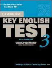 Cambridge key english test. With answers. Con CD Audio. Per le Scuole superiori
