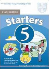Cambridge young learners English tests. Starters. Student
