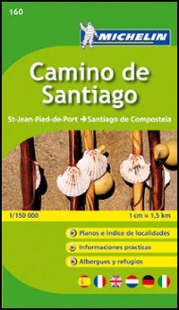 Camino de Santiago 1:150.000 -  pdf epub