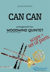 Can Can - Woodwind Quintet score & parts