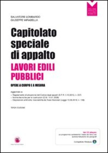 Capitolato speciale appalto lavori pubblici