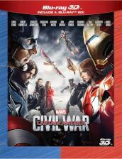Captain America - Civil war (2 Blu-Ray)(2D+3D)