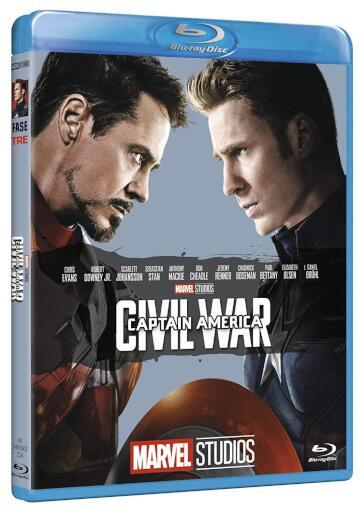 Captain America - Civil war (Blu-Ray)(10' anniversario Marvel Studios)