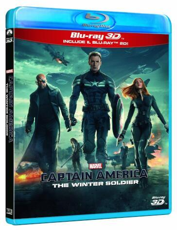 Captain America - The winter soldier (2 Blu-Ray)(2D+3D)