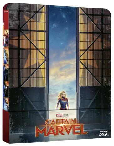 Captain marvel (2 Blu-Ray)(2D+3D) (steelbook)