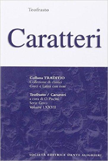 Caratteri - Teofrasto |