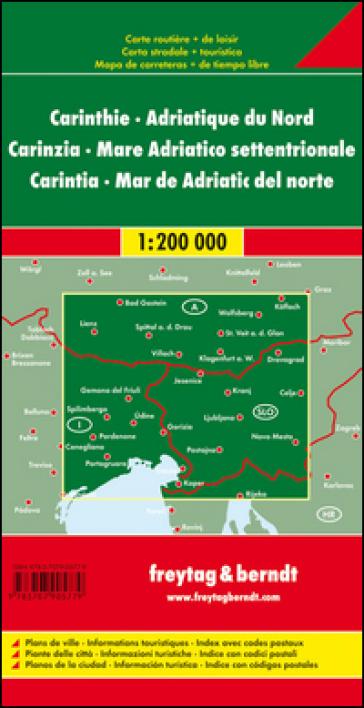 Carinzia-Adriatico nord 1:200.000