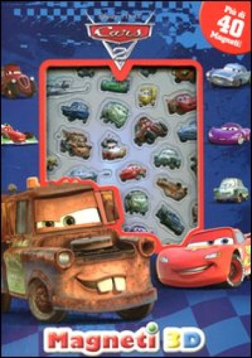 Cars 2. Con magneti 3D