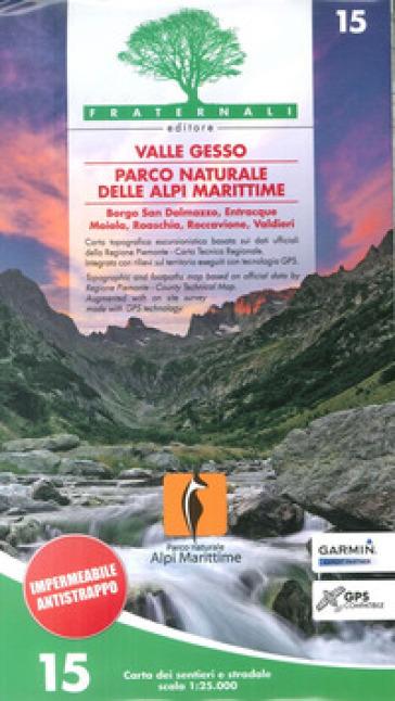 Carta n. 15. Valle Gesso, parco naturale delle Alpi Marittime