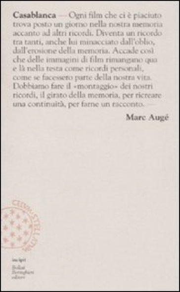 Casablanca - Marc Augé |