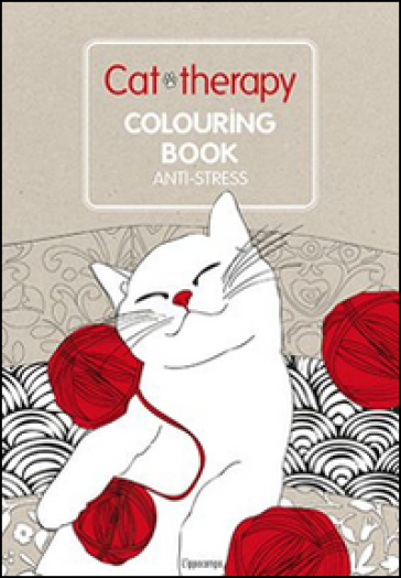 Cat Therapy Colouring Book Anti Stress