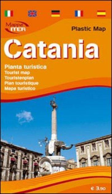 Catania. Pianta turistica 1:10.000