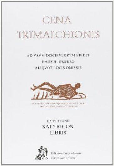 Cena Trimalchionis - Petronio Arbitro pdf epub