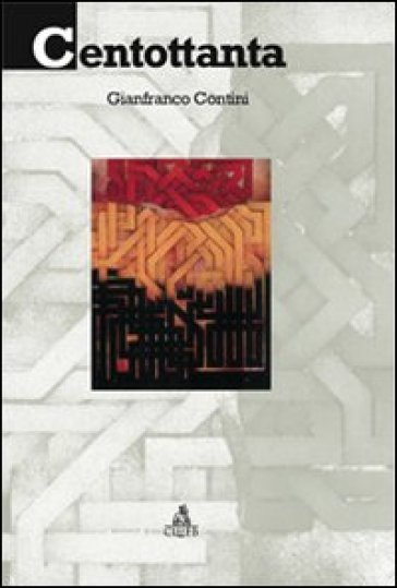 Centottanta - Gianfranco Contini  