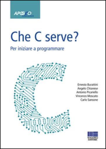 Che C serve? Per imparare a programmare - BURATTINI | Thecosgala.com