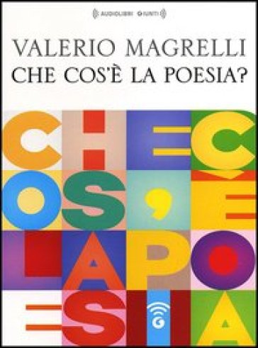 Che cos'è la poesia? Audiolibro. CD Audio formato MP3