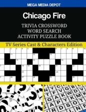 Chicago Fire Trivia Crossword Word Search Activity Puzzle Book