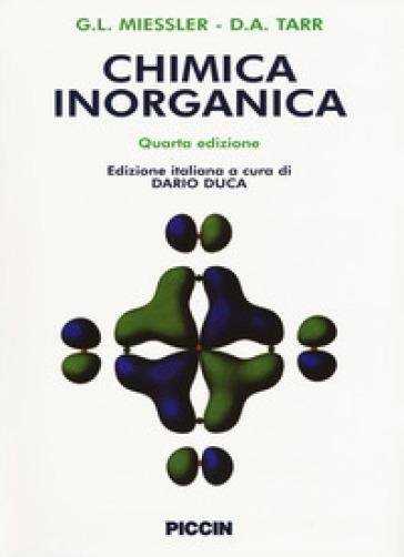 Chimica inorganica - Gary L. Miessler | Jonathanterrington.com